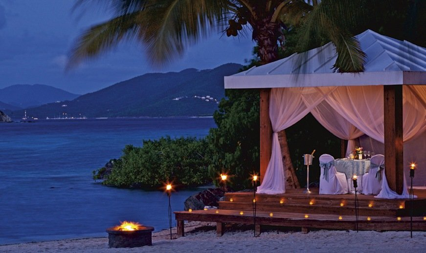 Ritz Carlton St Thomas Wedding Modern Destination Weddings