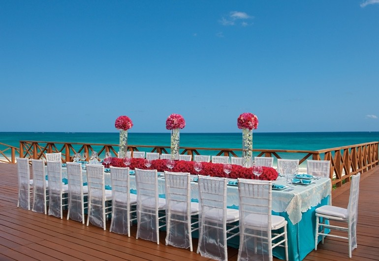 Night Beach Wedding Reception Elegant Caribbean Island: Modern Destination Weddings