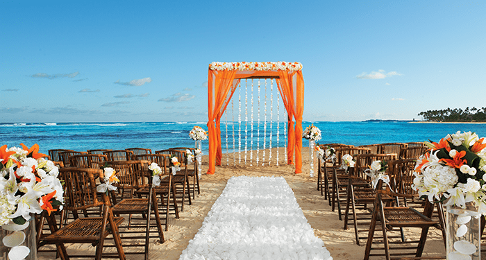 breathless punta cana resort wedding modern destination On punta cana beach wedding