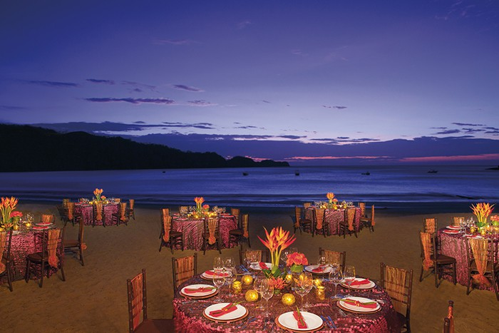 Dreams Las Mareas Costa Rica Wedding Modern Destination