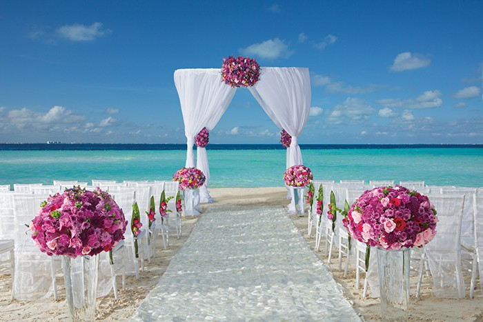 Dreams Sands Cancun Wedding Modern Destination Weddings