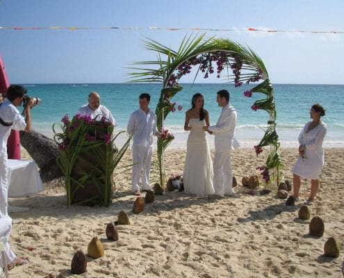 Grand Palladium Bavaro Suites Wedding Modern Destination