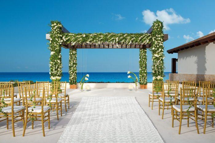 Secrets Playa Mujeres Wedding Modern Destination Weddings
