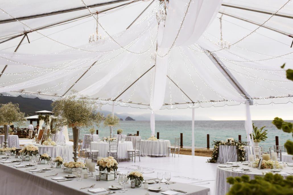Grand Fiesta Americana Puerto Vallarta Wedding Oceanfront Reception 1030x687 - beach wedding costa rica