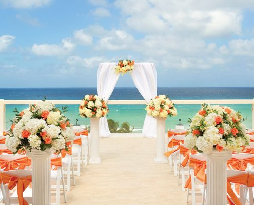 Hyatt Ziva Rose Hall Wedding Modern Destination Weddings