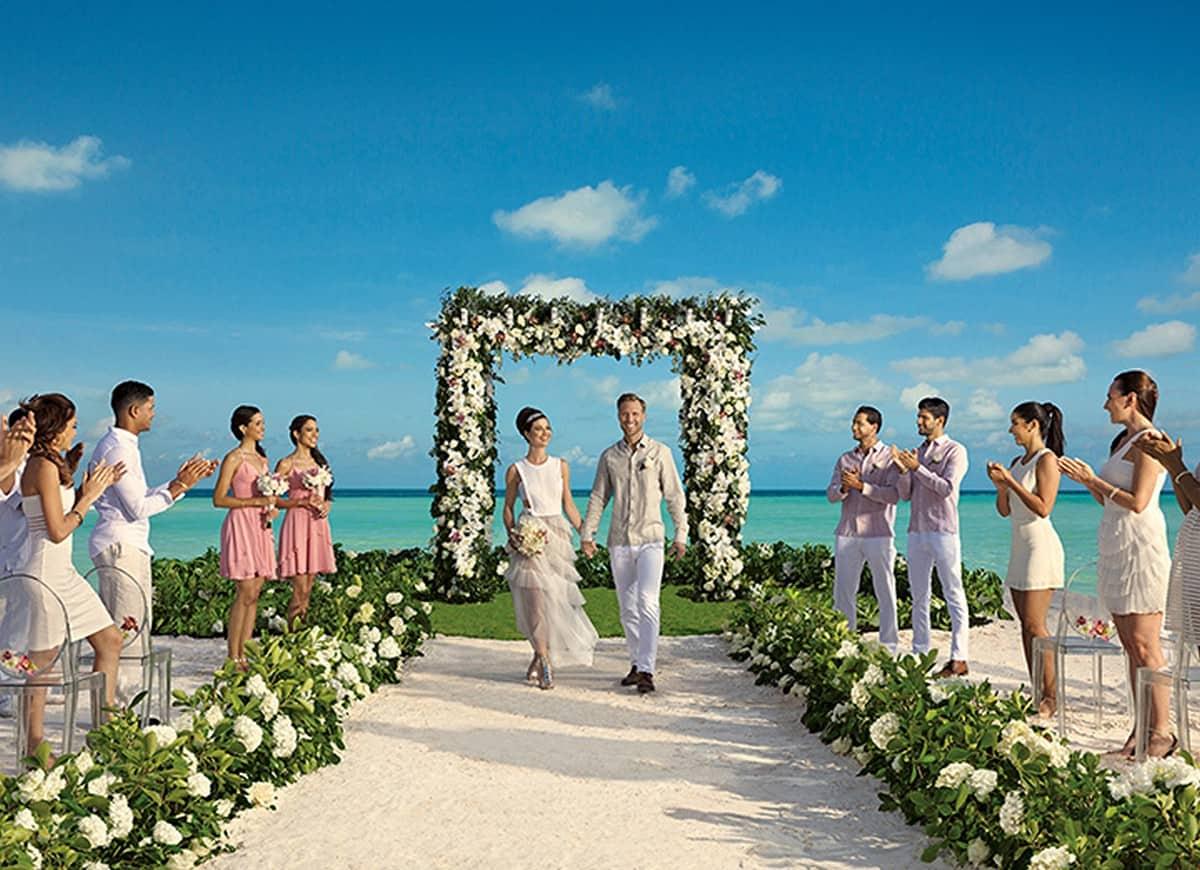 Secrets Cap Cana Resort Amp Spa Wedding Modern Destination